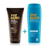 PIZ BUIN Tan & Protect Lotion SPF15 + After Sun Soothing&Cooling Lotion - Kozmetická sada