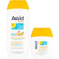 ASTRID SUN Detské mlieko na opaľovanie OF 30200 ml+ Hydratačné mlieko na opaľovanie OF 1080 ml