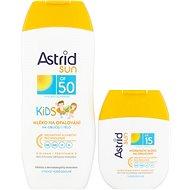 ASTRID SUN Detské mlieko na opaľovanie OF 50200 ml+ Hydratačné mlieko na opaľovanie OF 1580 ml