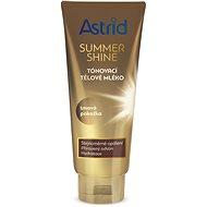 ASTRID SUMMER SHINE Tónovacie telové mlieko na tmavú pokožku 200 ml - Telové mlieko