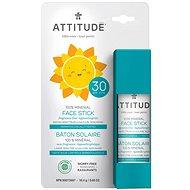 ATTITUDE Detská 100 % minerálna ochranná tyčinka na tvár a pery SPF30 18 g