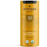 ATTITUDE 100 % minerálna ochranná tyčinka na celé telo SPF 30 s vôňou Tropical 85 g - Opaľovací krém