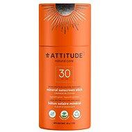ATTITUDE 100 % minerálna ochranná tyčinka na celé telo SPF 30 s vôňou Orange Blossom 85 g - Opaľovací krém