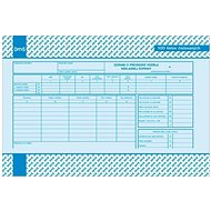OPTYS 8866 Záznam o prevádzke vozidla nákladnej dopravy - Tlačivo