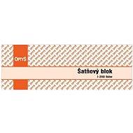 OPTYS 8980 Šatňový blok - Tlačivo