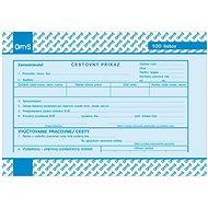 OPTYS 8751 Cestovný príkaz - Tlačivo