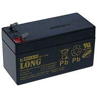 Long 12 V 1,2 Ah olovený akumulátor F1 (WP1.2-12) - Nabíjateľná batéria