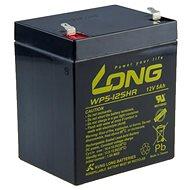 Long 12 V 5 Ah olovený akumulátor HighRate F1 (WP5-12SHR F1)