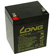Long 12 V 5 Ah olovený akumulátor F2 (WP5-12B F2) - Nabíjateľná batéria