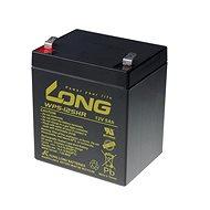 Long 12 V 5 Ah olovený akumulátor HighRate F2 (WP5-12SHR F2) - Nabíjateľná batéria