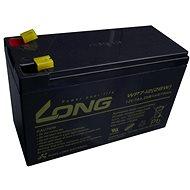 Long 12 V 7 Ah olovený akumulátor F1 (WPS7-12) - Nabíjateľná batéria