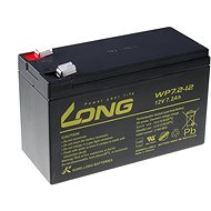 Long 12 V 7,2 Ah olovený akumulátor F2 (WP7.2-12 F2) - Nabíjateľná batéria