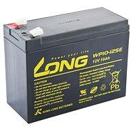 Long 12 V 10 Ah olovený akumulátor DeepCycle AGM F2 (WP10-12SE) - Nabíjateľná batéria