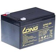 Long 12 V 12 Ah olovený akumulátor F2 (WP12-12A) - Nabíjateľná batéria