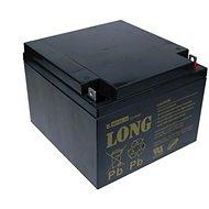Long 12 V 26 Ah olovený akumulátor F3 (WP26-12) - Nabíjateľná batéria