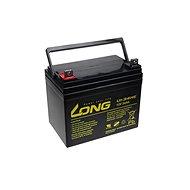 Long 12 V 34 Ah olovený akumulátor DeepCycle AGM F4 (U1-34HE) - Nabíjateľná batéria