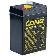 Long 6 V 4,5 Ah olovený akumulátor F1 (WP 4,5 – 6) - Nabíjateľná batéria