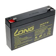 Long 6 V 7 Ah olovený akumulátor F1 (WP7-6) - Nabíjateľná batéria