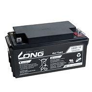 Long 12 V 65 Ah olovený akumulátor DeepCycle GEL F4 (LG65-12) - Trakčná batéria