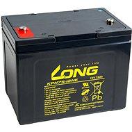 Long 12 V 75 Ah olovený akumulátor Deep Cycle AGM M6 (KPH75-12NE) - Trakčná batéria