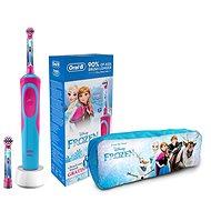 Oral-B Vitality Kids Frozen + penál - Elektrická zubná kefka