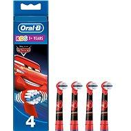 Oral-B Kids Cars náhradné hlavice 4 ks - Náhradné hlavice