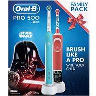 Oral-B Pro 500 + Vitality Star Wars - Elektrická zubná kefka