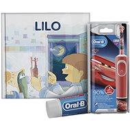 Oral-B Vitality Kids Cars + Oral-B zubná pasta + knižka - Elektrická zubná kefka pre deti