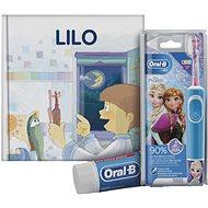 Oral-B Vitality Kids Frozen + Oral-B zubná pasta + knižka - Elektrická zubná kefka pre deti