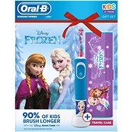 Oral-B Vitality Frozen + cestovné puzdro - Elektrická zubná kefka pre deti