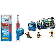 Oral-B Vitality Kids Cars + LEGO City 60223 Kombajn