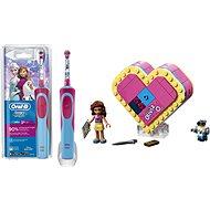 Oral-B Vitality Kids D12K Frozen + LEGO Friends 41357 Oliviina srdcová škatuľka