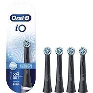 Oral-B iO Ultimate Clean Čierne, 4 ks - Náhradné hlavice
