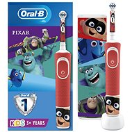 Oral-B Vitality Kids Pixar + Cestovné Puzdro - Elektrická zubná kefka pre deti