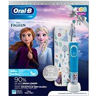 Oral-B Vitality Kids Frozen II + Cestovné Puzdro - Elektrická zubná kefka pre deti