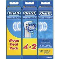 Oral-B náhradné hlavice Precision clean 6 ks