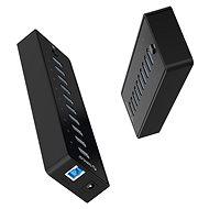 USB Hub Orico USB-A Hub 10× USB 3.0 with power suply