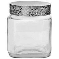 Dóza sklo/UH GRANIT hranatá 1 l - Dóza
