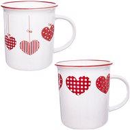 Orion Hrnček porcelánový HOME LOVE 350 ml 2 ks - Hrnček