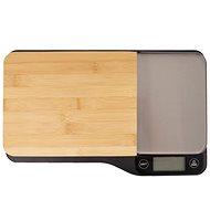 Orion Kuchynská váha bambus 5 kg + doska na krájanie - Kuchynská váha