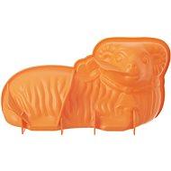 Forma silikón BARÁNOK oranžová - Forma na pečenie