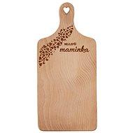 Lopárik rukoväť drevo MAMIČKA 30 × 14 cm