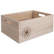 Bednička drevo HOME MADE 26 × 16 × 11 cm - Úložný box