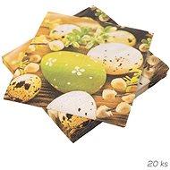 ORION Obrúsok papier Veľkonočné vajíčka 20 ks 33 × 33 cm - Papierové obrúsky