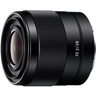 Sony FE 28 mm F2.0 - Objektív