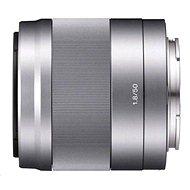 Sony 50 mm F1.8 strieborný - Objektív
