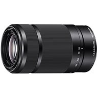Sony 55 – 210 mm F4,5 – 6,3, čierny - Objektív