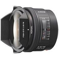 SONY 16mm F2.8 Fish eye - Objektív