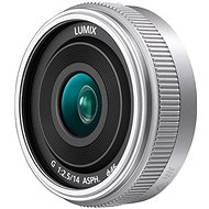 Panasonic Lumix G 14 mm f/2,5 strieborný