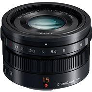 Panasonic Leica DG Summilux 15 mm f/1,7 ASPH čierny - Objektív